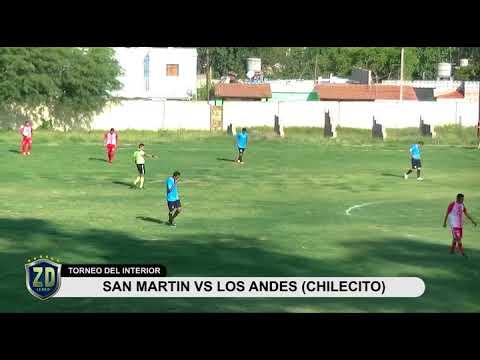 SAN MARTIN VS. LOS ANDDES (CHILECITO)