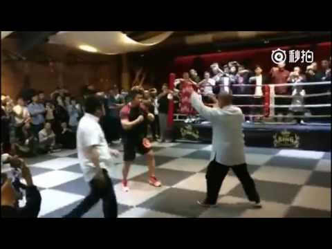Fight between MMA 'madman' and Tai Chi master lasts all of 10 seconds