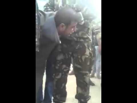 الجزائر: القبض على ارهابي حي من قبل قوات الجيش  Algeria: a terrorist captured alive by ANP forces
