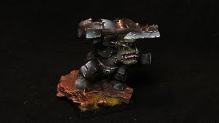Как покрасить чёрного орка (Warhammer FB) часть 2(Вторая часть гайда по покраске фбшного чорка. Завершающие штрихи, мазки и обклеивание травкой. Как итог:..., 2013-12-26T06:58:07.000Z)