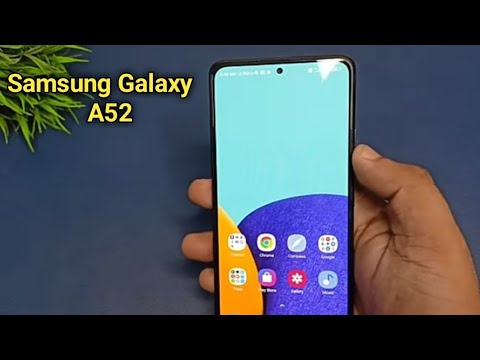 Samsung Galaxy A52, 2021, Unboxing And Review