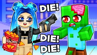 24 HOURS to SURVIVE the Zombie APOCALYPSE in Roblox!
