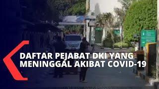Daftar Pejabat di Pemprov DKI Jakarta yang Meninggal Akibat Covid-19