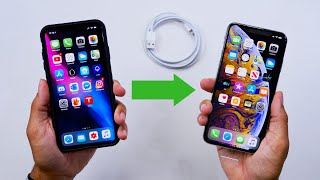 Transfer Old iPhone to New iPhone! NO DATA LOSS!