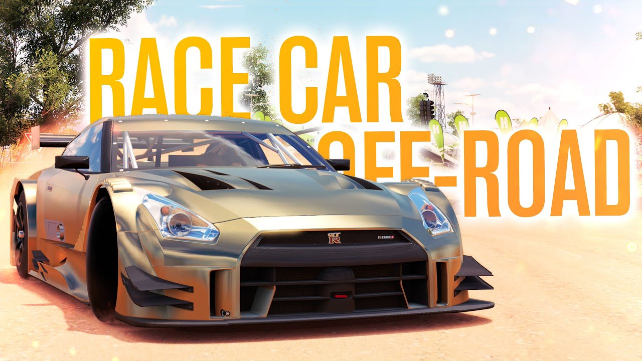 Gtr Race Car Off Road Forza Horizon Let S Play Youtube