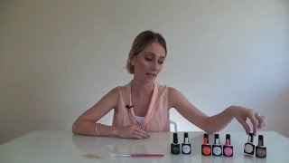 create your own gel polish colours