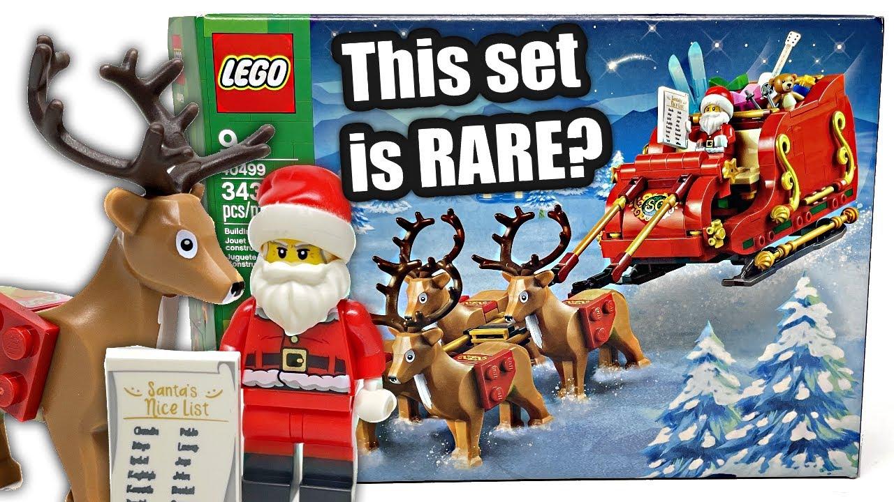 Download LEGO Santa's Sleigh REVIEW! 2021 set 40499!