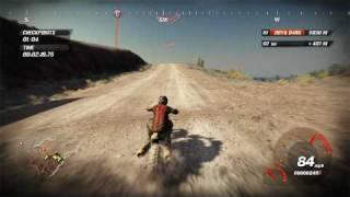 FUEL PC Gameplay Dirt Bike Race