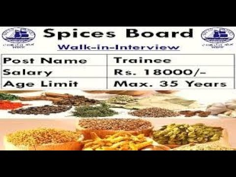 Spices-board-institute-recruitment-trainee-analyst-vacancies-salary-rs-18000-walk-interview