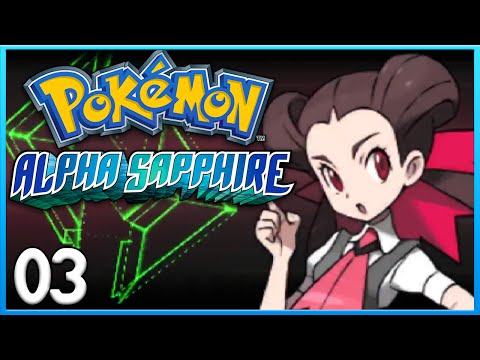 Pokemon Alpha Sapphire Part 3 - Roxanne Gym Battle! ORAS Gameplay Walkthrough