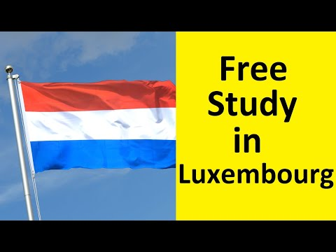 Study in Luxembourg – Free Study in Luxembourg