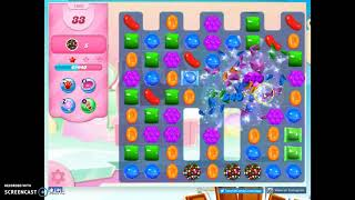 Candy Crush Level 1066 Audio Talkthrough, 3 Stars 0 Boosters