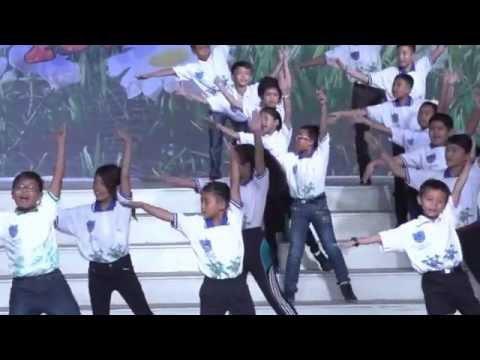 Pagelaran INLA Medan 2015 - SD Cahaya Kasih - Tim Rumpun Bambu