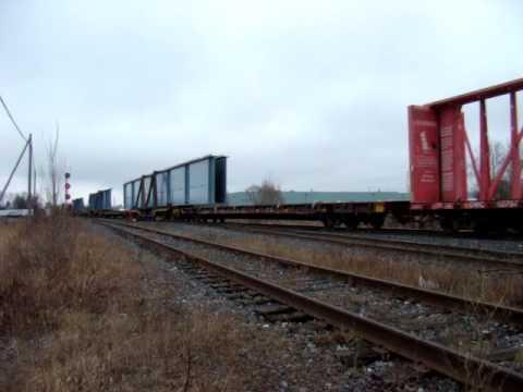 CN 520 Structal Québec - Poutres pour le pont de l