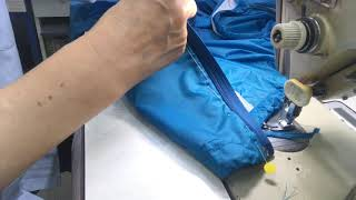 노스페이스 바람막이 잠바 지퍼달기
