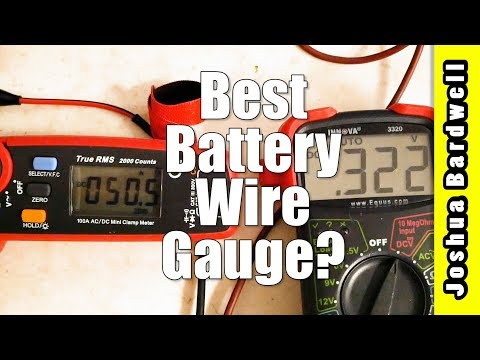 Battery Wire Gauge | WHY IT DOESN