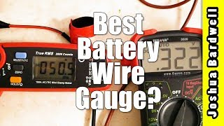 Battery Wire Gauge | WHY IT DOESN'T ACTUALLY MATTER