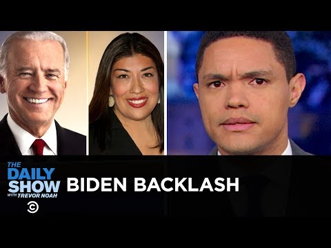 """Joe Biden Faces Backlash for His """"Hands-On"""" Approach to Politics 