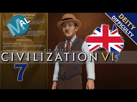 CIVILIZATION 6 | AUSTRALIA | WITH FRIENDS LIKE THIS! | PART 7 | DEITY