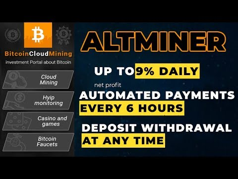 [SCAM]Altminer.io - Up to 9% daily net profit. AUTOMATED PAYMENTS - every 6 hours