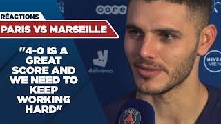 POST GAME INTERVIEW : PARIS SAINT-GERMAIN vs MARSEILLE