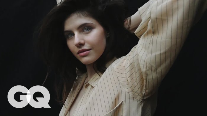 Alexandra Daddario Behind The Scenes Details Magazine Youtube