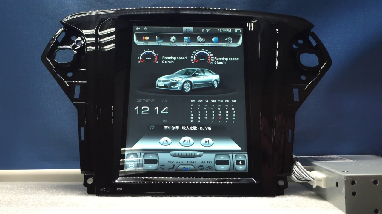 10 4 android car dvd gps navigation radio player for ford. Black Bedroom Furniture Sets. Home Design Ideas