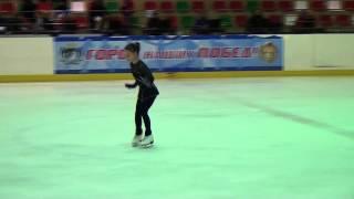 Фигурное катание, 3 юношеский разряд, Новосибирск.mp4