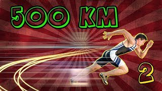 I RAN AT 500 KM/h, 🏃🏼🏃🏼 #2 | ROBLOX SPEED RUN