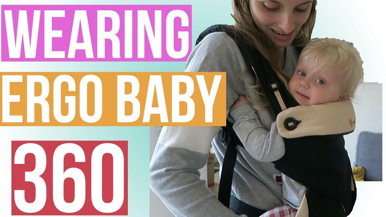 how to put on ergo 360