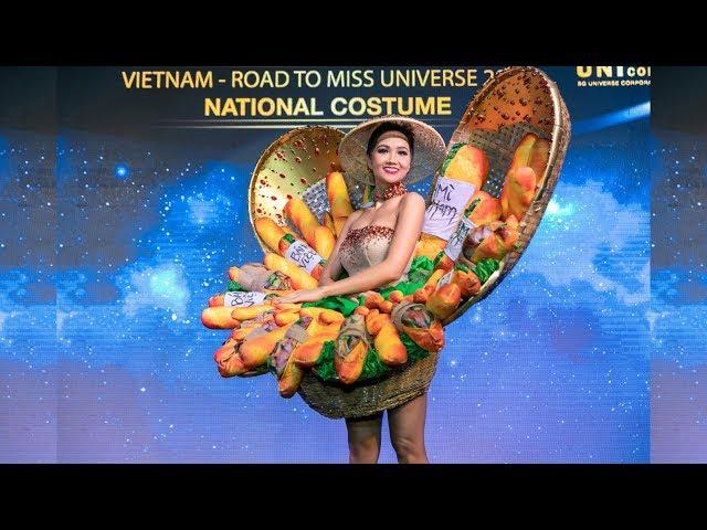 BÁNH MÌ CHÍNH THỨC TRỞ THÀNH NATIONAL COSTUME CỦA VIỆT NAM TẠI MISS UNIVERSE 2018 I FULL HD