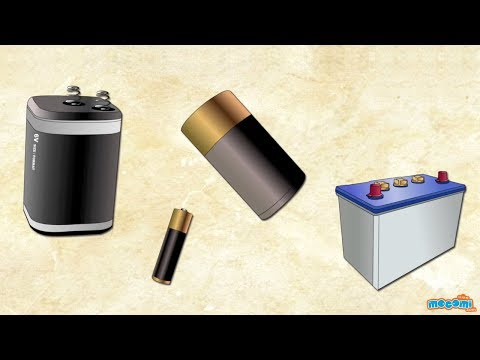 How Do Batteries Work? Science Education For Students | Kids Education By Mocomi