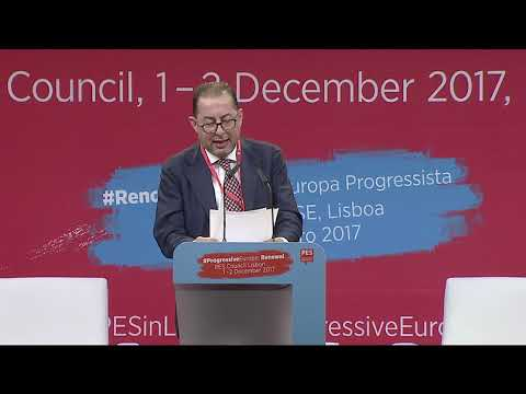 PES Counicil, Lisbon, Day 1, Speech by Gianni Pittella (In Italian)