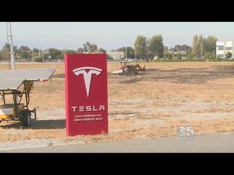 Tesla Mega-Sizing Fremont Factory