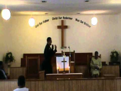 Reverend Julius E. Giddens IV of Wilson Chapel AME Church in Grove Hill Alabama Sermon 4 Part 2