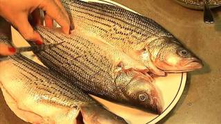 How to cook stripped bass greek-style | Greek fish recipe