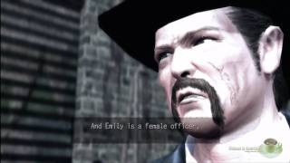 Deadly Premonition Special Menu Cutscene 05 - Emily
