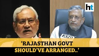 'Rajasthan govt took Rs 1 cr to send stranded students from Kota': Sushil Modi