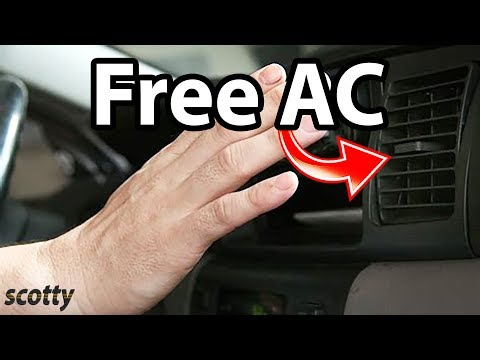 How to Keep Your Car's AC Blowing Ice Cold for FREE