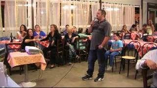 karaoke - Fabio canta MENTRE TUTTO SCORRE - karaboombaa