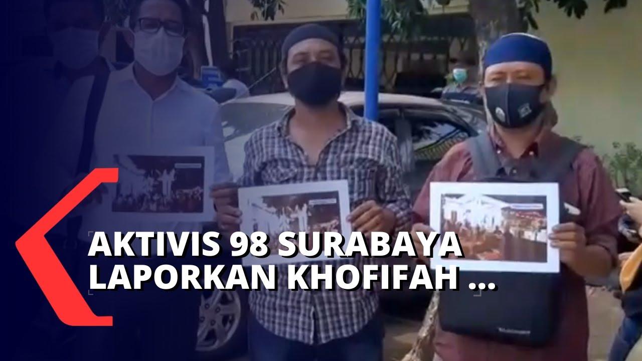 Gubernur Jawa Timur Khofifah Dilaporkan ke Polisi