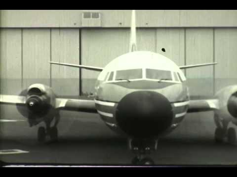 F 2108 0001 American Airlines Flagship Newsreel Boeing 707 and Lockheed Electra