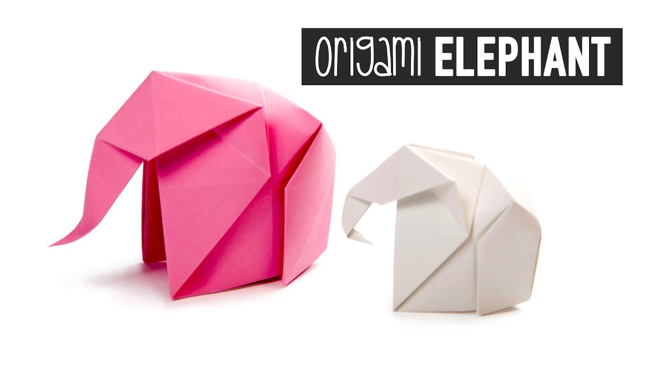 Origami Elephant Tutorial - Paper Kawaii - YouTube - photo#17