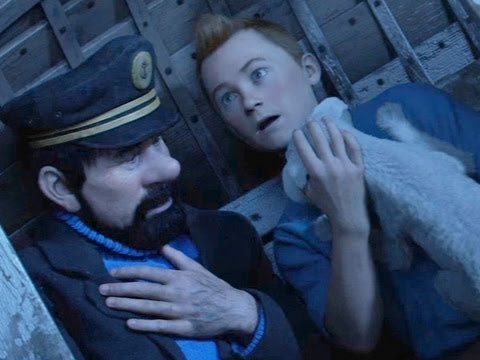 "The Adventures of Tintin ""Wrong Lifeboat"" Movie Clip Official 2011 [HD]"