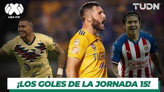 Los mejores goles de la jornada 15 de la Liga MX