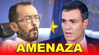 Echenique ATACA a Pedro Sánchez