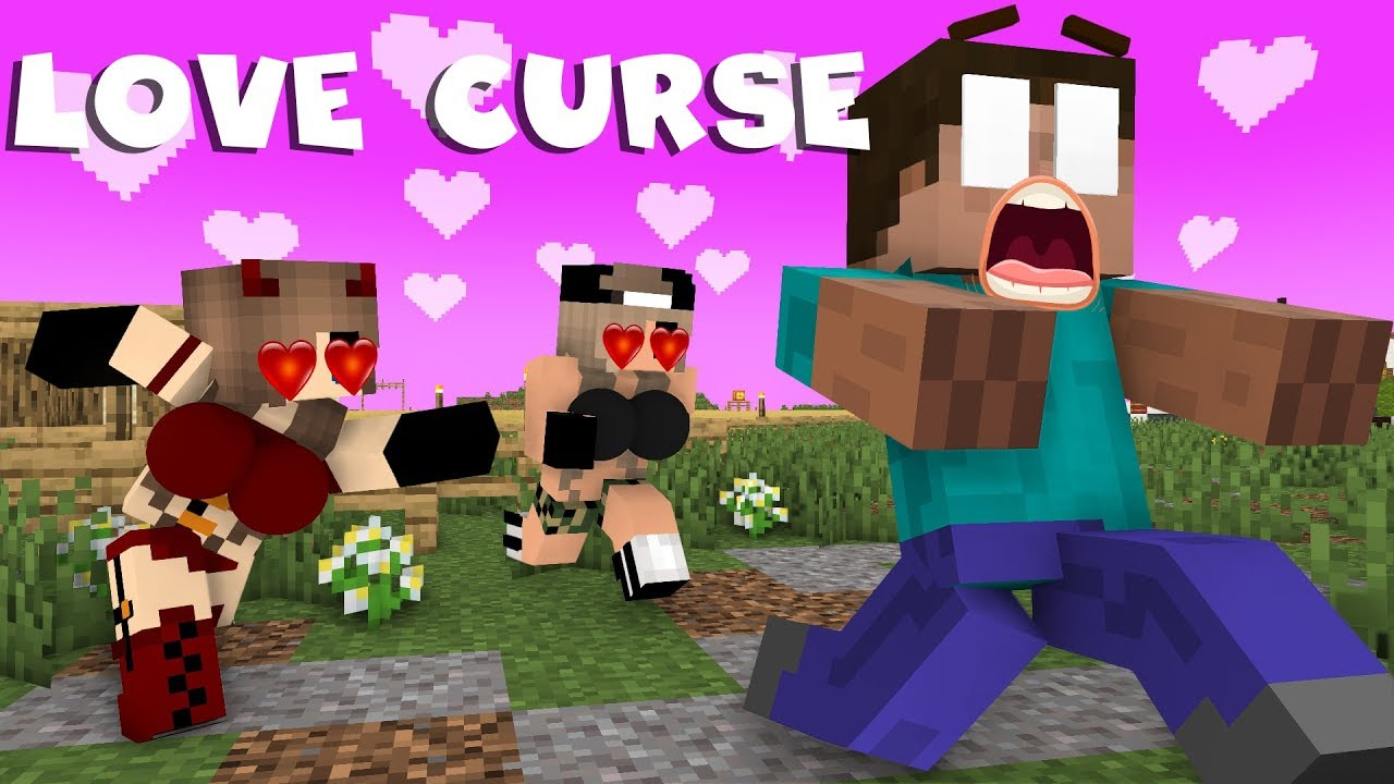 Monster School Love Curse Part 1 Rusplaying Funny Minecraft Animation Youtube