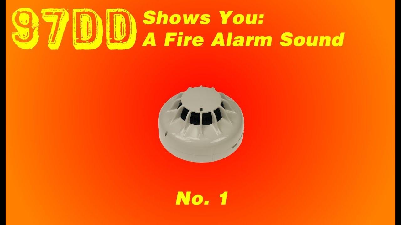 Sensor Fire Alarm Sound : Fire alarm sound youtube