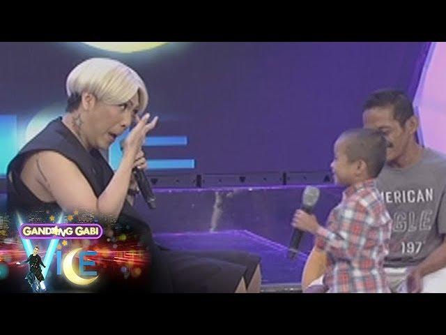 GGV: Carlo Mendoza makes Vice Ganda teary-eyed
