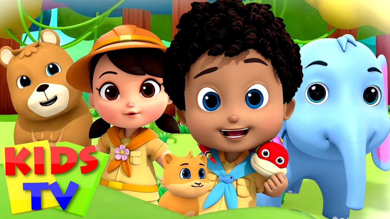 Jungle Song | Zoo Song | Nursery Rhymes & Kids Songs | Boom Buddies | Baby Cartoons | Kids Tv